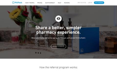 Refer a Friend - PillPack