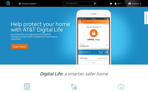 AT&T Digital Life - Home Security & Automation Systems