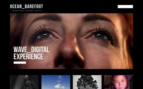 Screenshot of Case Studies Page oceanbarefoot.com - Case Studies Archive - Ocean_Barefoot - captured Nov. 7, 2018