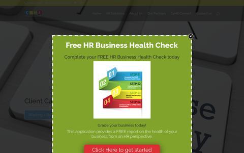 Screenshot of Case Studies Page c4hr.co.uk - Business Case Studies: HR Challenge HR Solutions Supporting Growth - captured Dec. 29, 2016