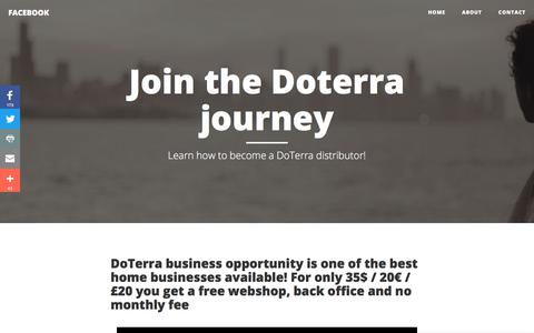 Learn how to become a DoTerra distributor!