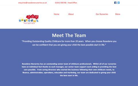 Screenshot of Team Page rosedenenurseries.co.uk - Team | Rosedene Nurseries - captured Nov. 6, 2017