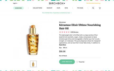 Kérastase Elixir Ultime Nourishing Hair Oil