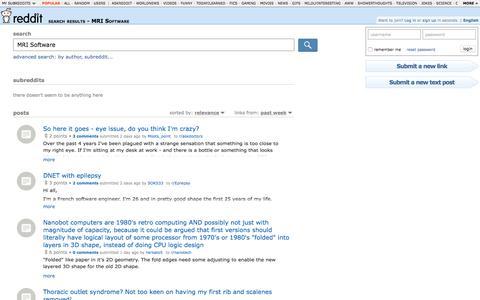 reddit.com: search results - MRI Software