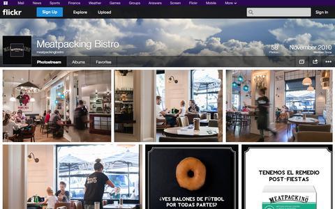 Screenshot of Flickr Page flickr.com - Flickr: meatpackingbistro's Photostream - captured Oct. 27, 2014