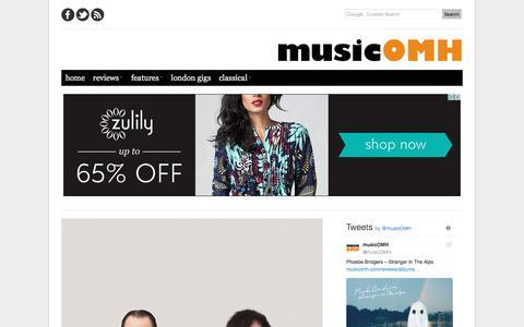 Screenshot of Home Page musicomh.com - musicOMH | album reviews, live music reviews, interviews, features - captured Oct. 4, 2017