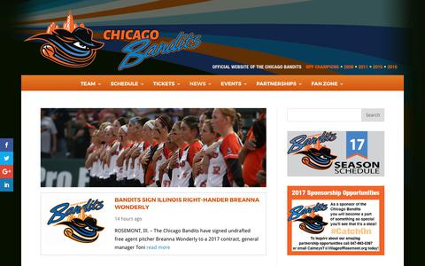 News | Chicago Bandits