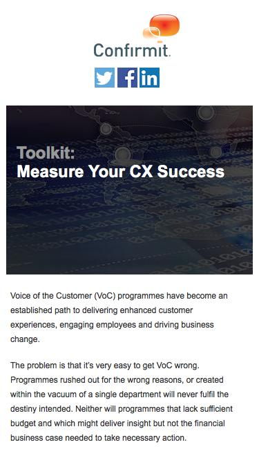 Toolkit: Measure Your CX Success