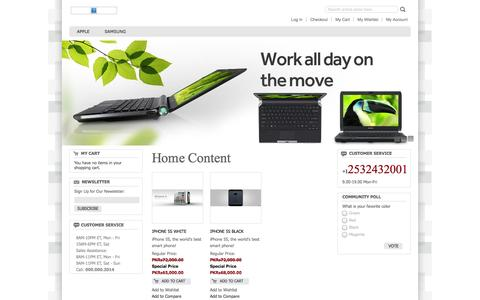 Screenshot of Home Page smartsol.pk - SmartSol Home - captured Oct. 6, 2014