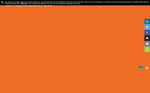 Screenshot of Landing Page workfront.com - Workfront User Events - captured May 26, 2018