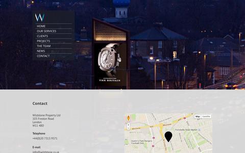 Screenshot of Jobs Page wildstone.co.uk - Contact Us   Wildstone - captured Oct. 26, 2014