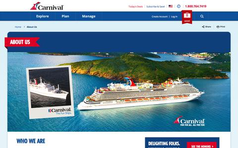 About Us | Carnival Cruise Line
