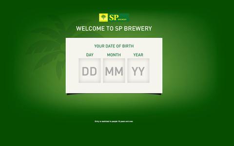 Screenshot of Jobs Page sp.com.pg - Jobs | SP Brewery - captured Oct. 3, 2014