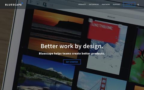 Bluescape | Bluescape - visual collaborative workspace