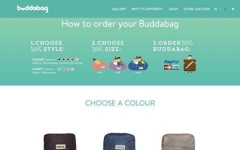 Screenshot of Terms Page buddabag.com - Memory Foam Bags | Buddabag Collections at Buddabag.comBudda Bag - captured Oct. 5, 2014