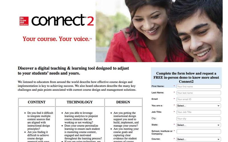 McGraw Hill Connect2
