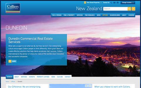 Dunedin Office | New Zealand | Colliers International