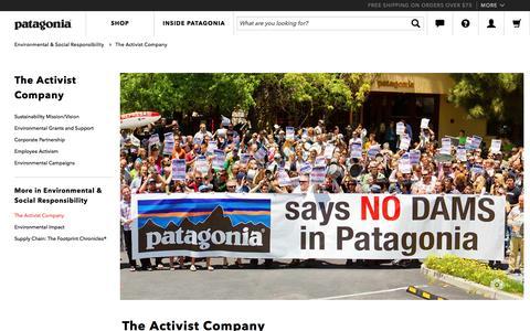 The Activist Company - Patagonia