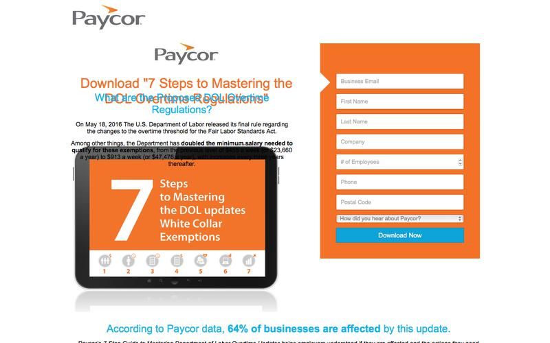 7 Step Guide to Mastering DOL Proposed Updates | Paycor