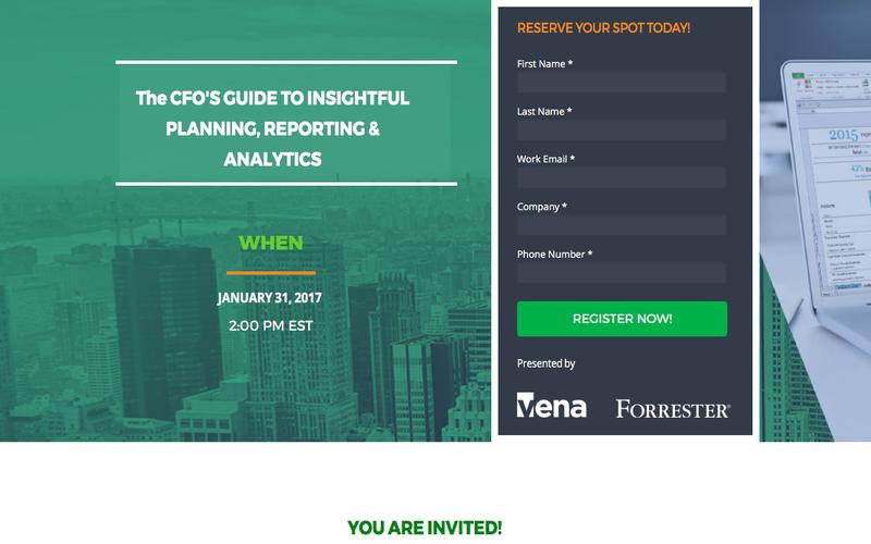 The CFO'S GUIDE TO INSIGHTFUL PLANNING, REPORTING & ANALYTICS