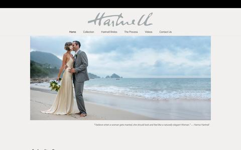 Screenshot of Home Page hannahartnell.com - Hanna Hartnell - captured May 14, 2017