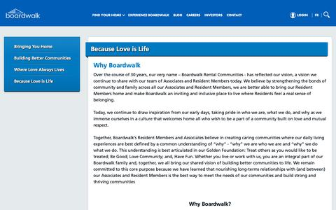 Screenshot of About Page bwalk.com - Our Why | Learn The Why Behind Boardwalk Which Drives Everything We Do - captured Dec. 13, 2018