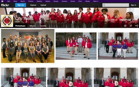 Screenshot of Flickr Page flickr.com - Flickr: cityyear's Photostream - captured Oct. 22, 2014