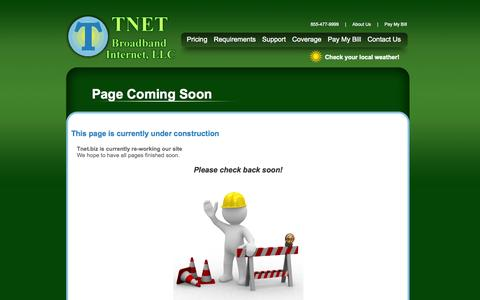 Screenshot of About Page Privacy Page FAQ Page tnet.biz - Tnet.biz Internet Service - captured Oct. 26, 2014