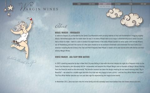 Screenshot of About Page warginwines.com - About Wargin Wines - Wargin Wines - captured Oct. 8, 2014