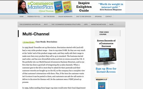 Screenshot of Support Page ecommercemasterplan.com - Multi-Channel - - captured Sept. 30, 2014