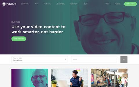 2018 Video in Business Benchmark Report - Vidyard