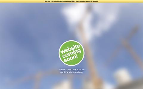 Screenshot of Home Page intelligence-dbi.com captured June 19, 2019