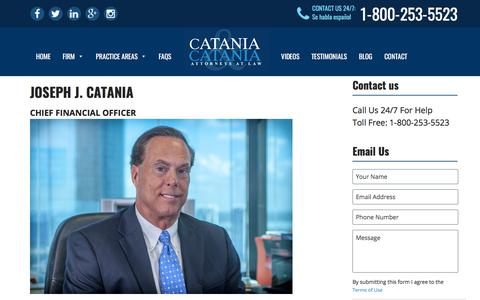 Screenshot of Team Page cataniaandcatania.com - Management and Staff - Catania and Catania, PA - captured July 17, 2017