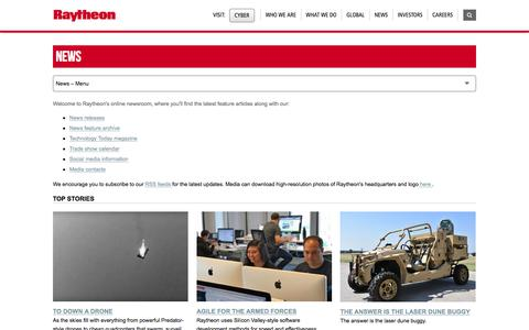 Raytheon: Raytheon News