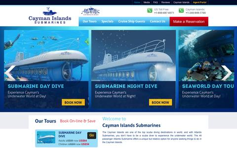 Cayman Islands Submarine Tour, Cayman Underwater Tour, Cayman Tour, Submarine Dive In Cayman