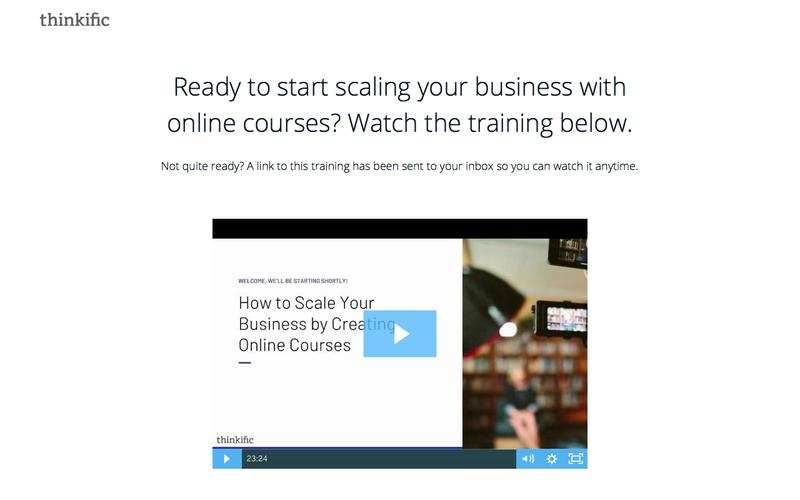 Free Training: How to Scale Your Business using Online Courses