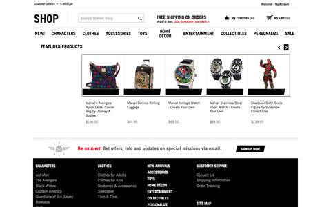 Marvel Shop   Official Site for Marvel Toys, Clothing & Merchandise