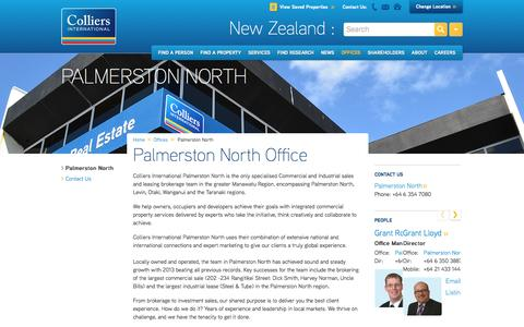 Palmerston North Office | New Zealand | Colliers International