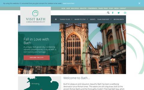 Visit Bath | A World Heritage Spa City | Official Tourism Site for Bath and Beyond | Visit Bath