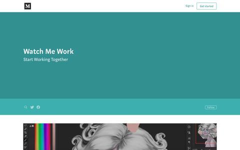 Screenshot of Blog watchmework.com - Watch Me Work - captured July 29, 2019