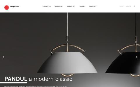 Screenshot of Home Page designfarm.com.au - designFARM - captured Feb. 9, 2016