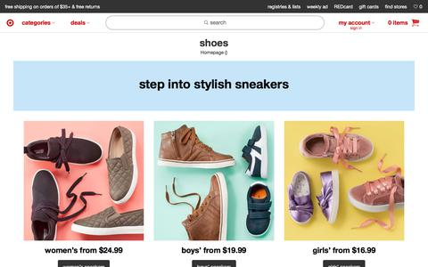 Shoes : Target