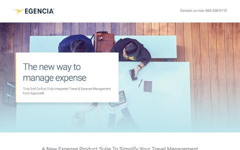 Screenshot of Landing Page egencia.com - Egencia - captured March 7, 2017