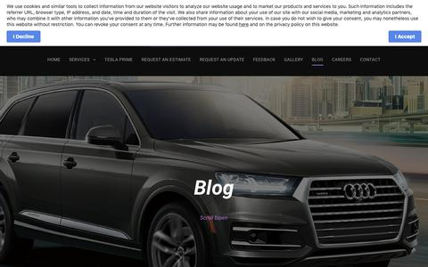 Screenshot of Press Page panelcraftuk.com - BLOG - captured Nov. 4, 2018