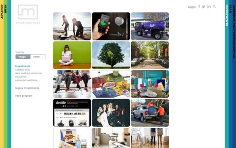 Maveron | Consumer-Only Venture Capital