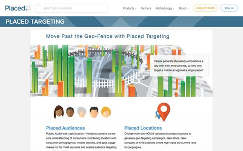 Placed Targeting | Mobile Ad Targeting Beyond the Geo-Fence | Placed