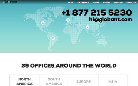 Contact Us | Globant