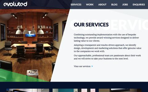 Creative Agency Sheffield   View Our Services At Evoluted