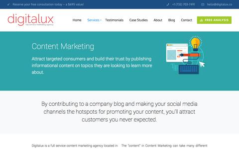 Content Marketing | Digitalux