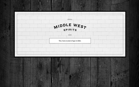 Screenshot of Press Page middlewestspirits.com - Press - Middle West Spirits Middle West Spirits - captured Oct. 18, 2018
